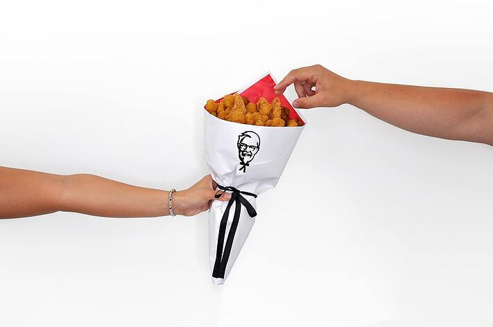 KFC chicken bouquet