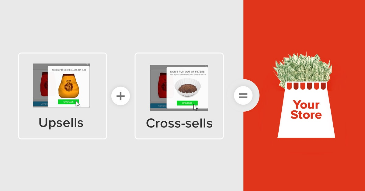 upsells and cross-sell apps on Shopify