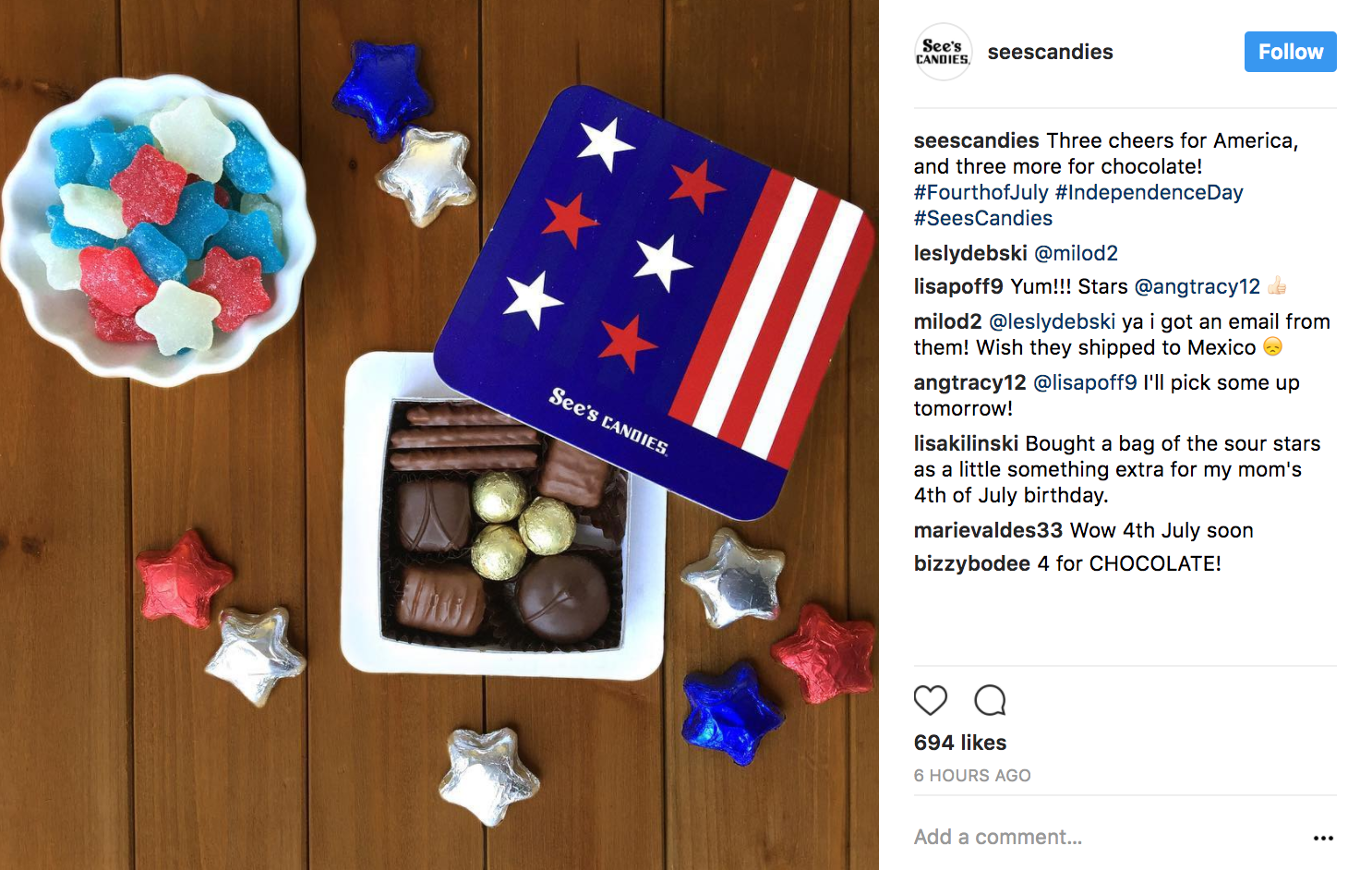4th of July hashtags
