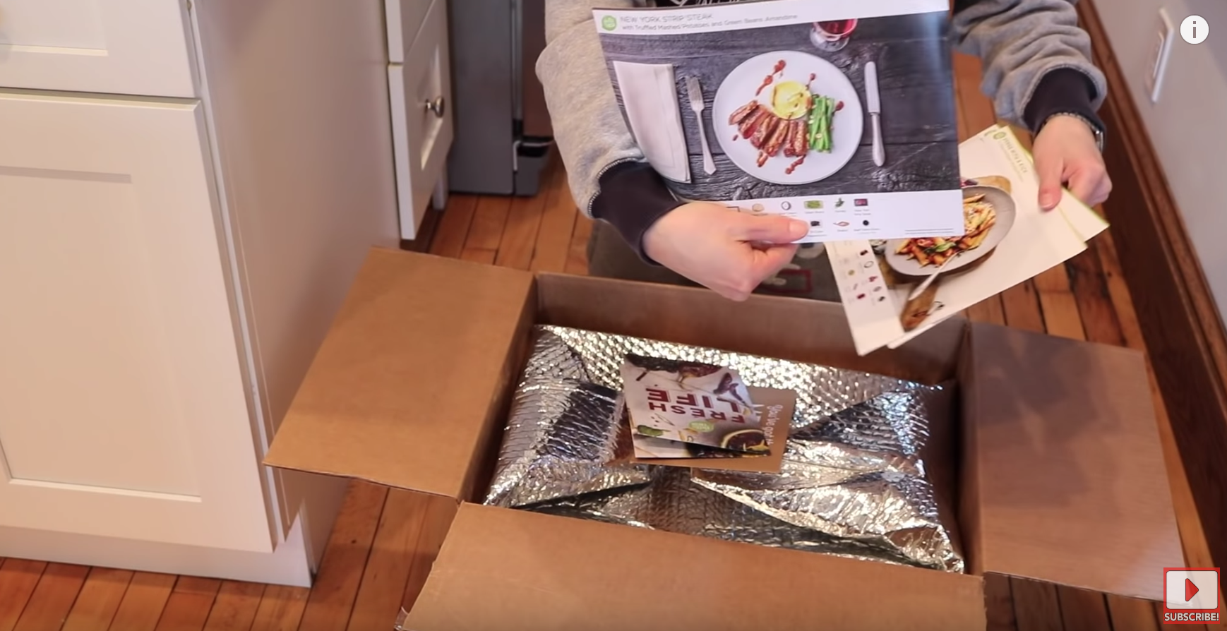 Blue Apron VS HelloFresh - Are they Worth It (Unboxing & Review) - YouTube 2019-12-02 09-52-24