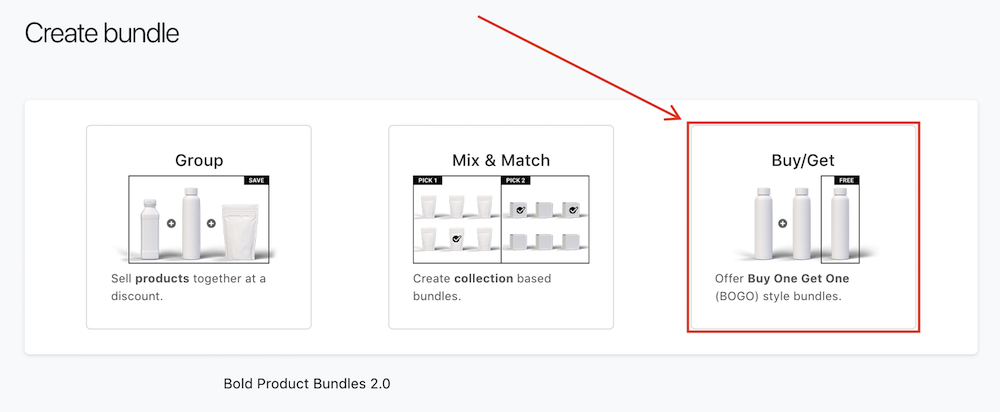 Create Bundle Sales