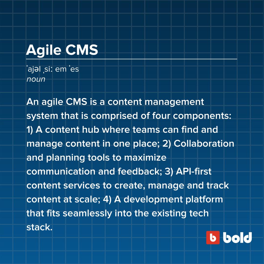 Agile CMS