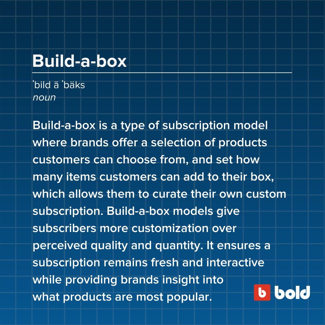 Build-a-box