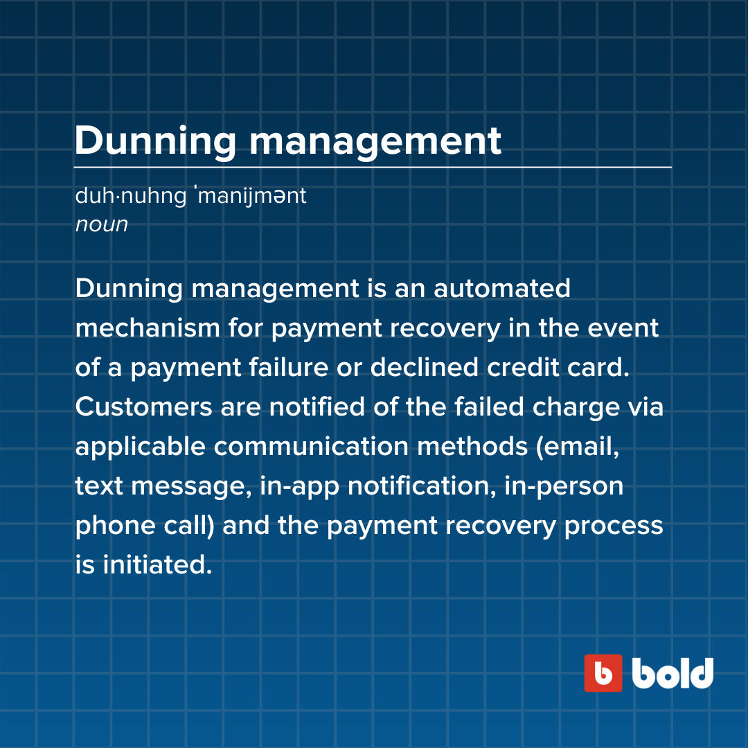 Dunning management