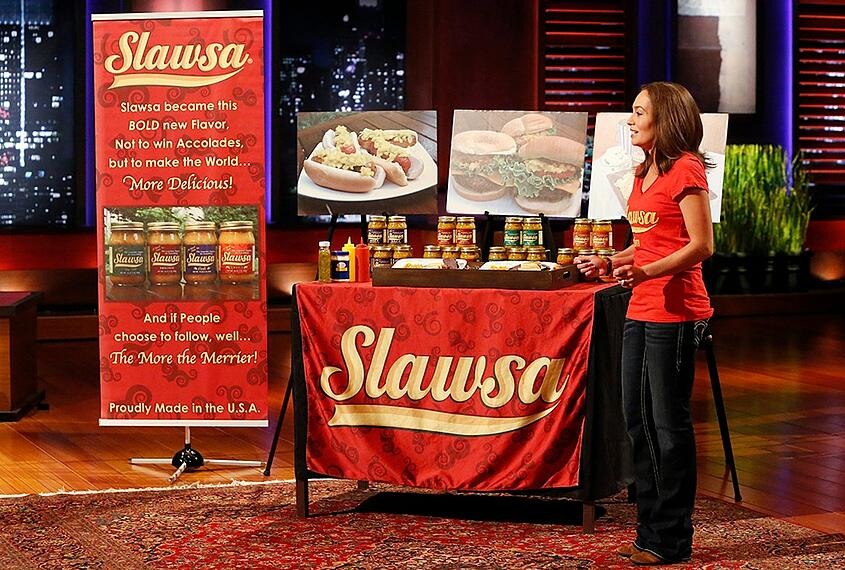 Slawsa on Shark tank