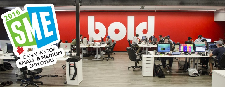 Bold Wins Top Employer Recognition