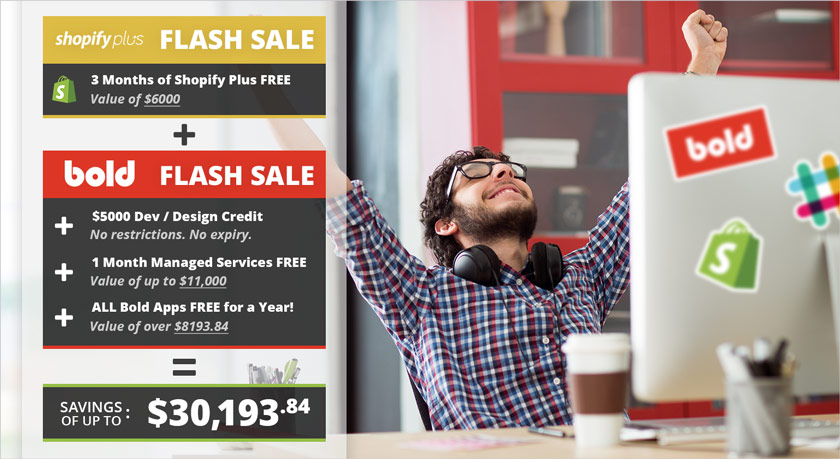 Shopify Plus Black Friday Sale