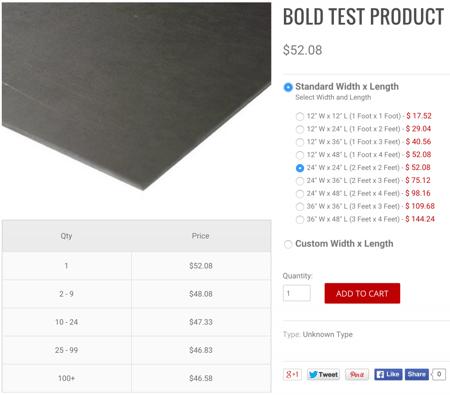 Metal Product Image
