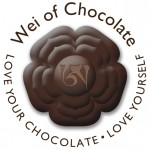 Wei of Chocolate round logo