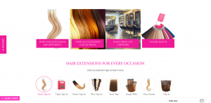 glam seamless front of website 4