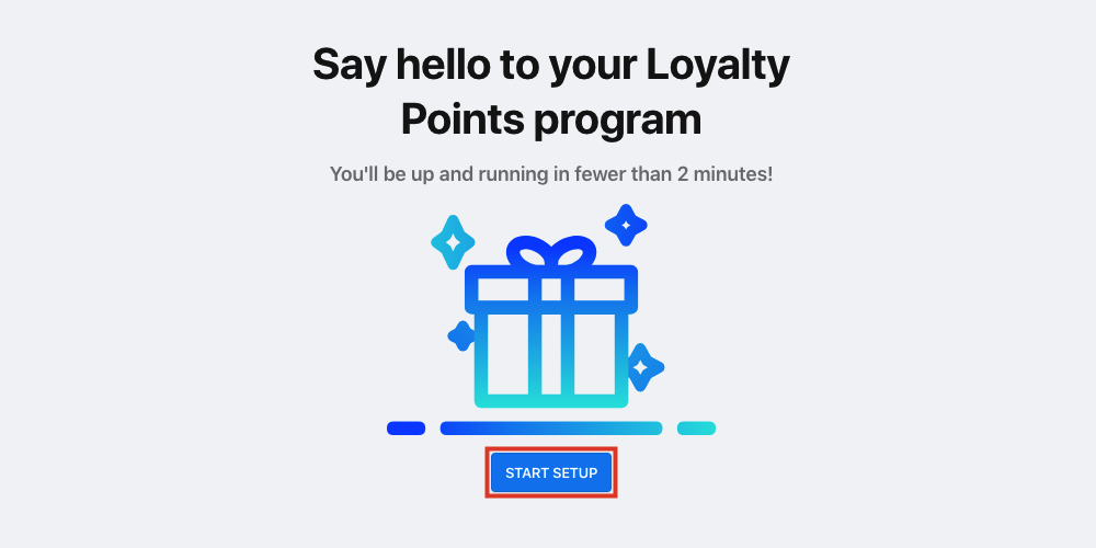 Bold Loyalty Points app install