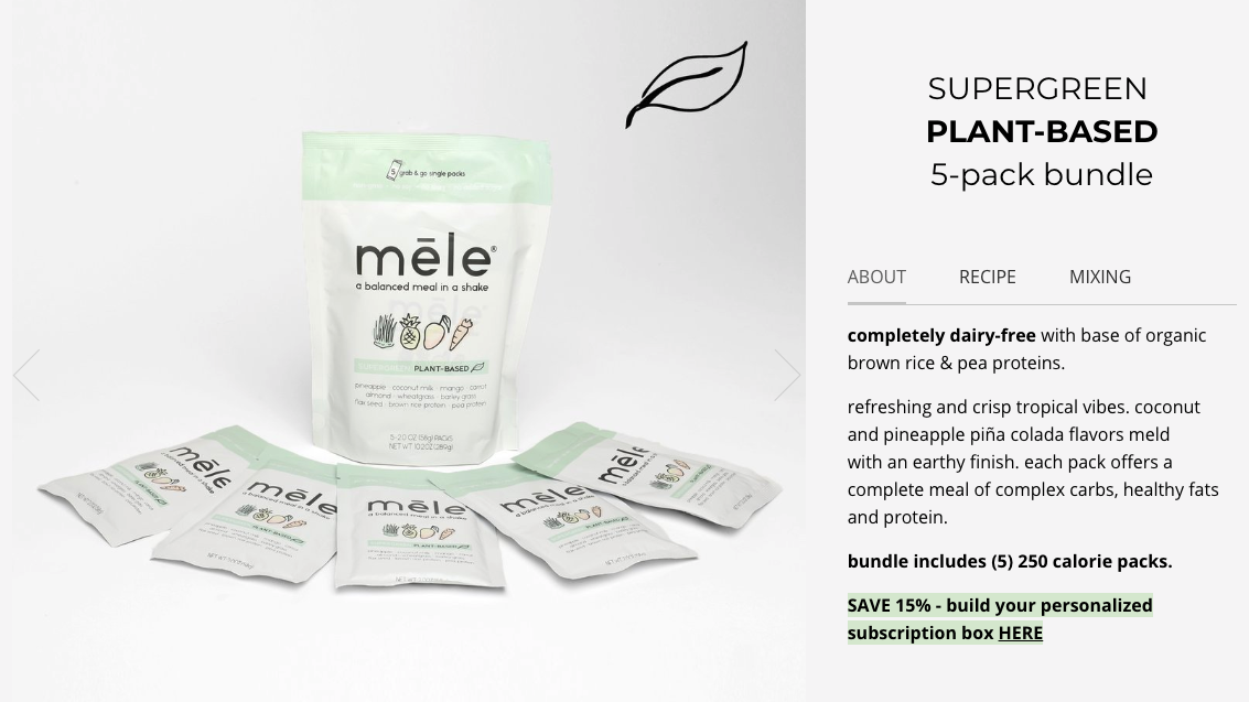 mele-meal-replacement-upsell-subscription