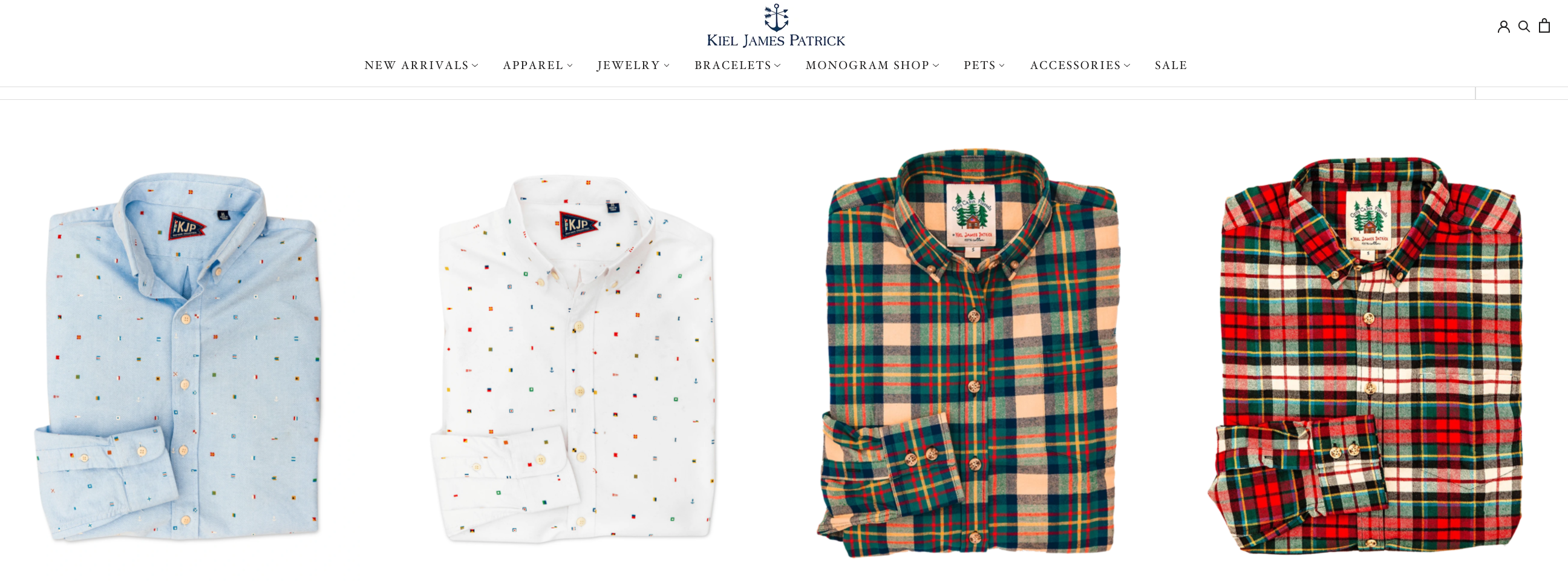 A row of nice men's longsleeve shirts