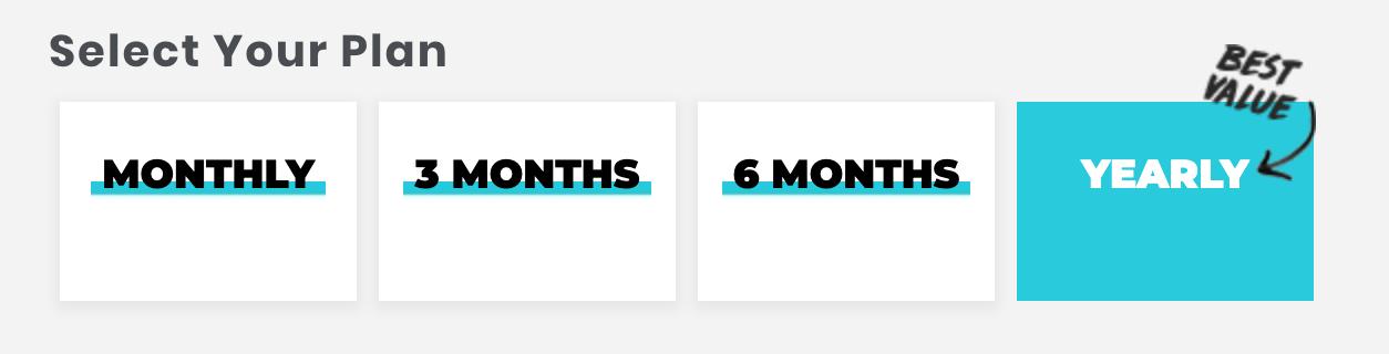 a comparison of monthly subscription plans