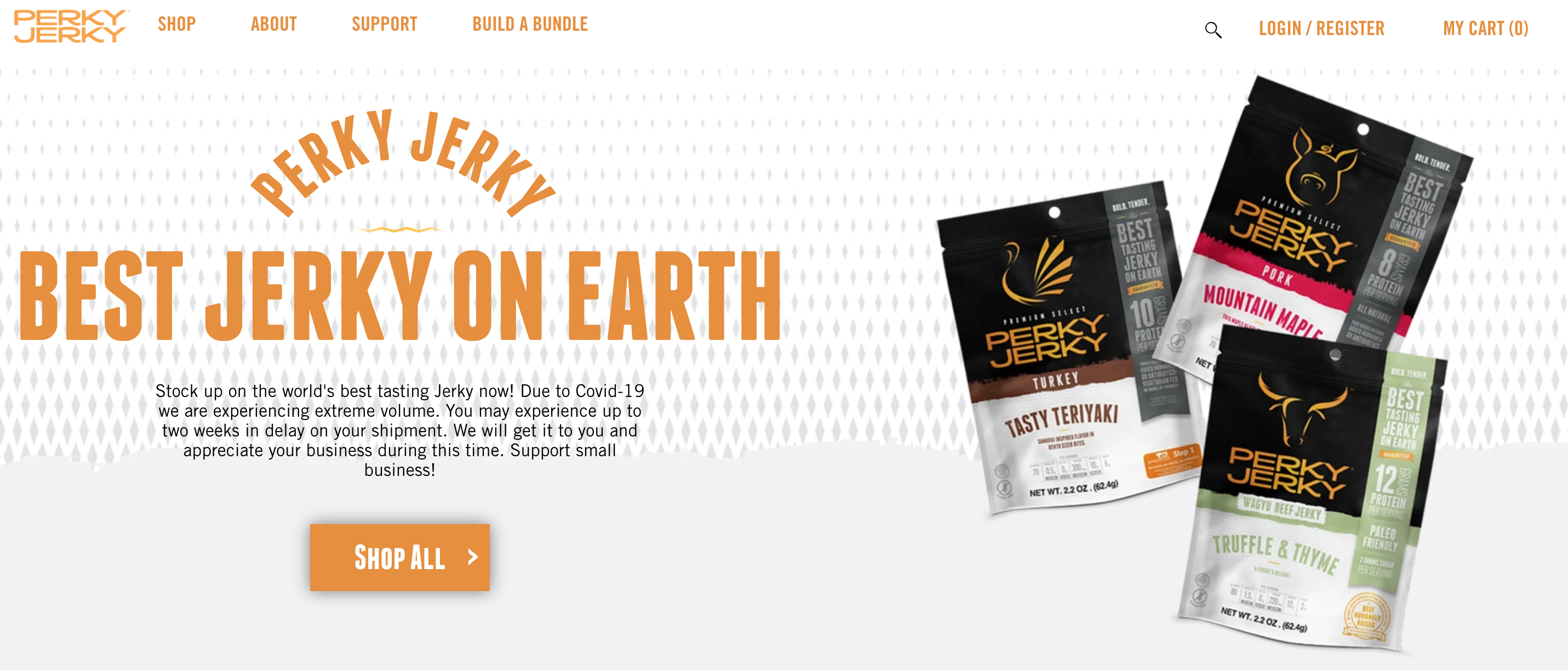 Perky Jerky snack 2020 trending products