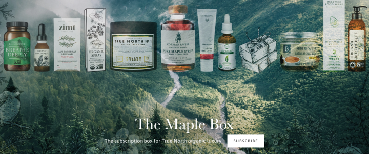 The Maple Box curated subscription