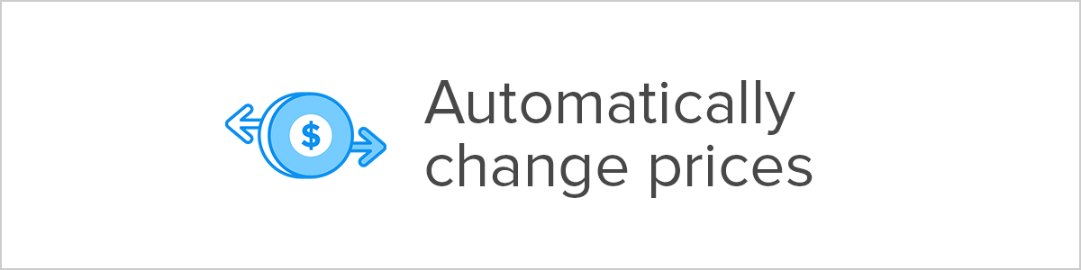 automatically change prices shopify discount app