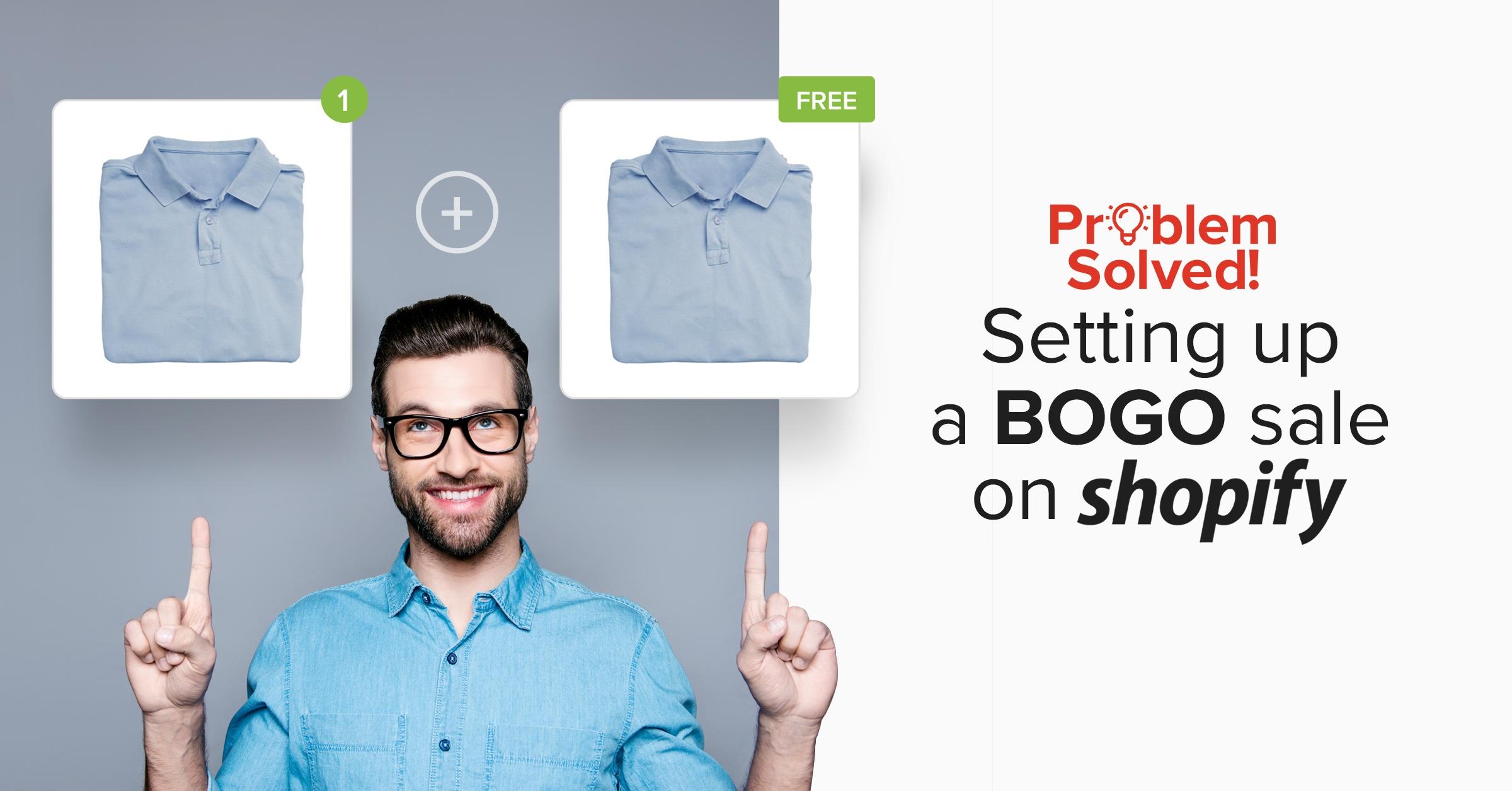 BOGO sale on Shopify