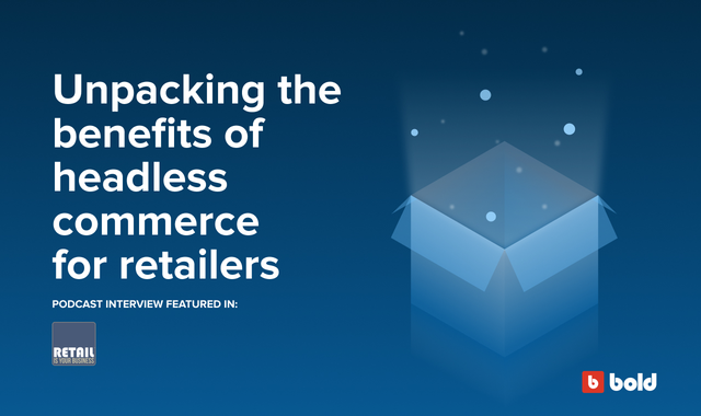 Blog banner showing anything is possible with headless commerce