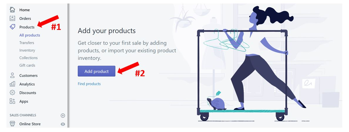 How to upload your products to Shopify