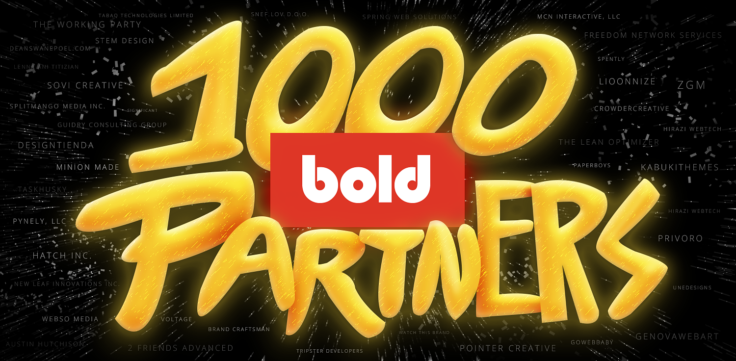 Reached 1,000 partners