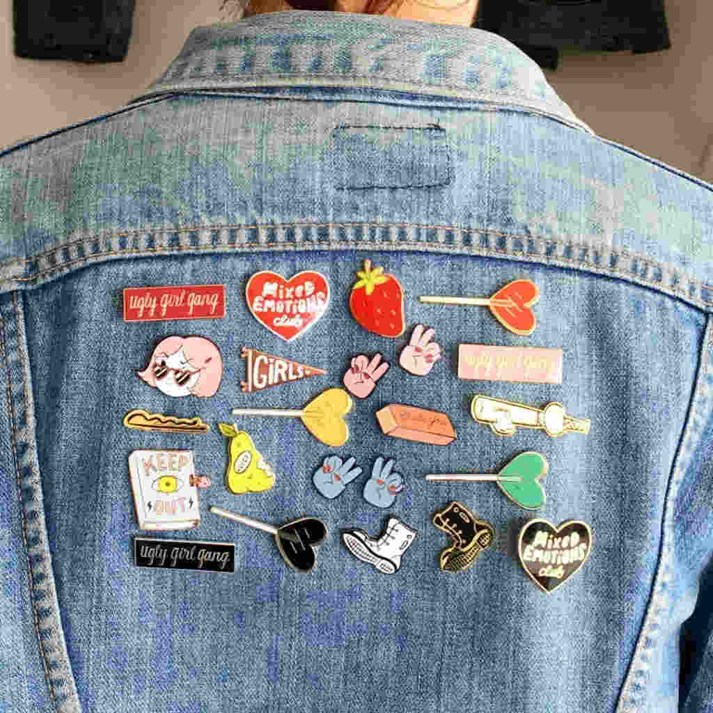 Enamel Pins Fashion Products