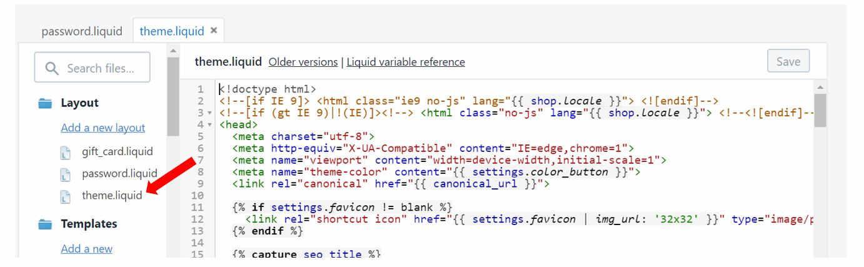 16 - facebook pixel code shopify