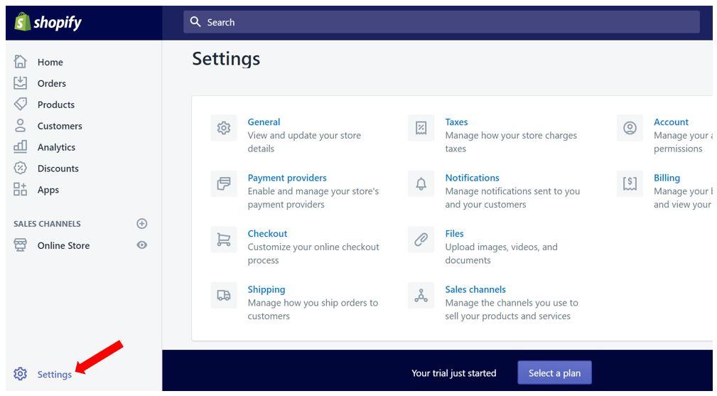 21-shopify-store-settings