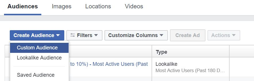 How to Create a Custom Audience on Facebook