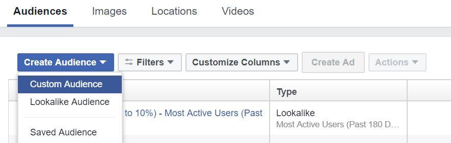 26 - facebook custom audience pixel
