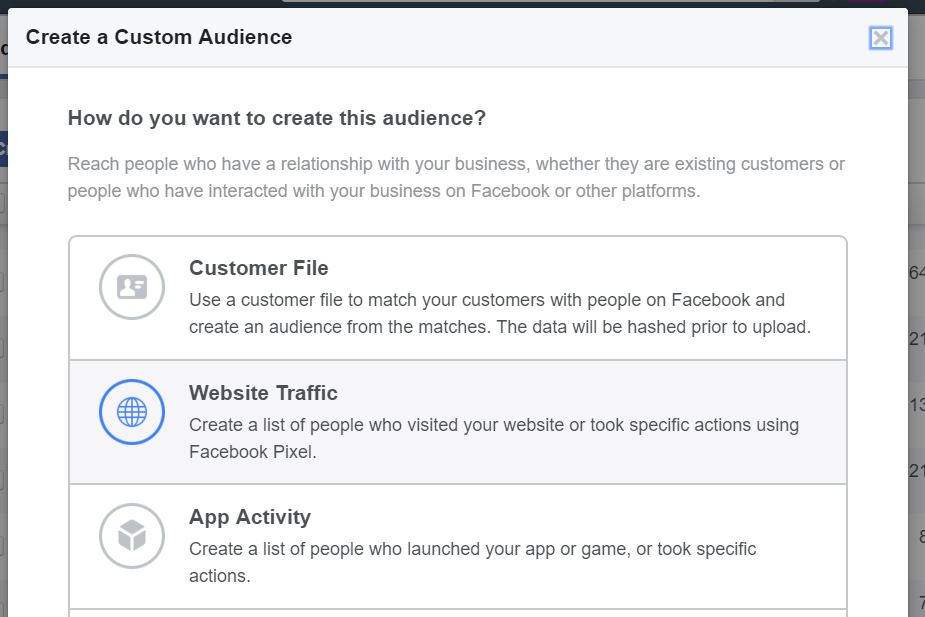 27 - facebook custom audience pixel