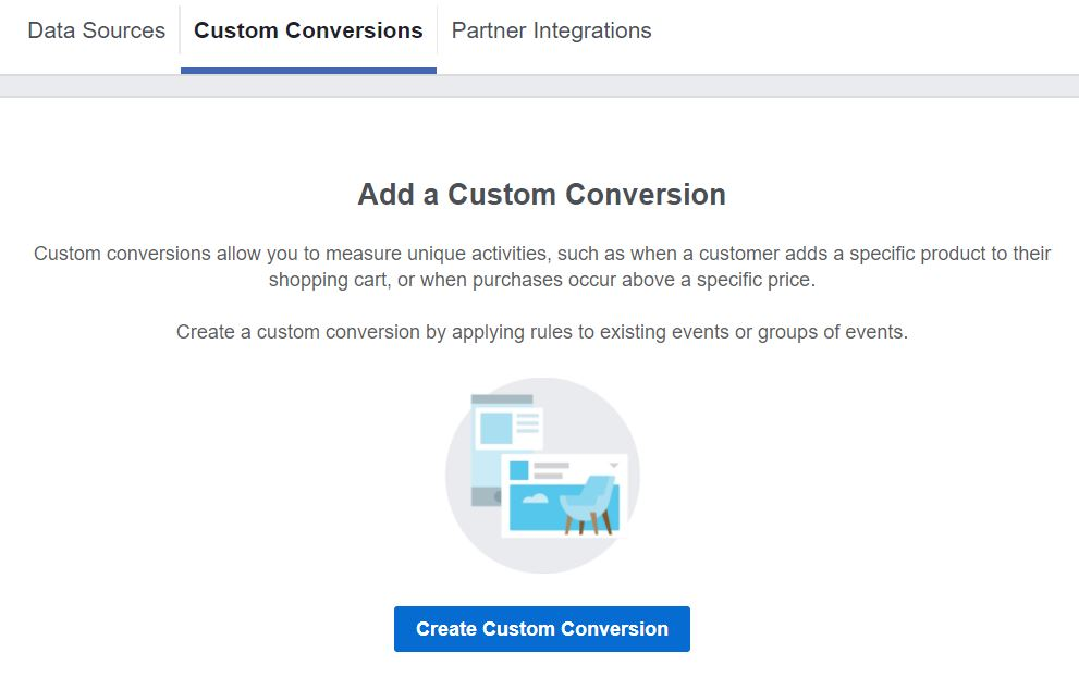 Adding a Custom Conversion to Your Facebook Pixel
