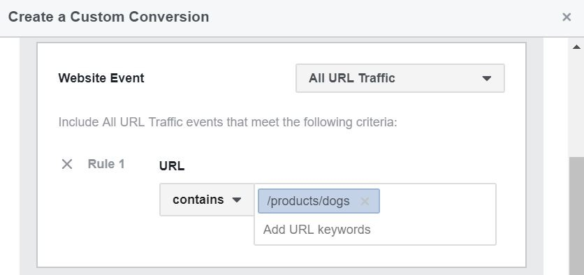 32 - facebook custom conversions