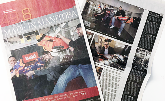 Winnipeg Free Press: Made in Manitoba