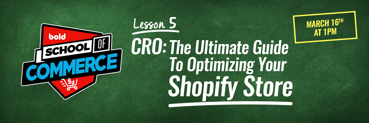 CRO: Thhe Ultimate Guide to Optimizing Your Shopify Store