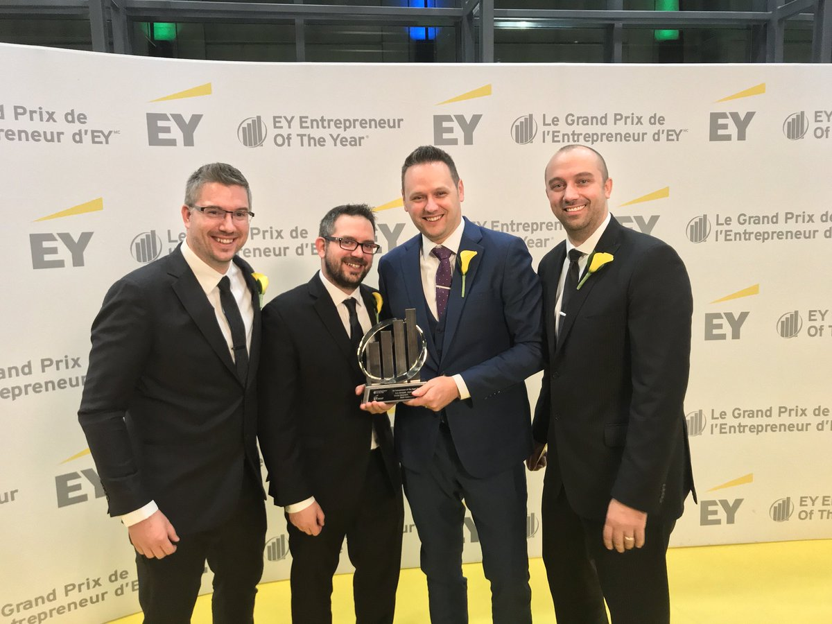 EY Emerging Entrepreneur 2017 award