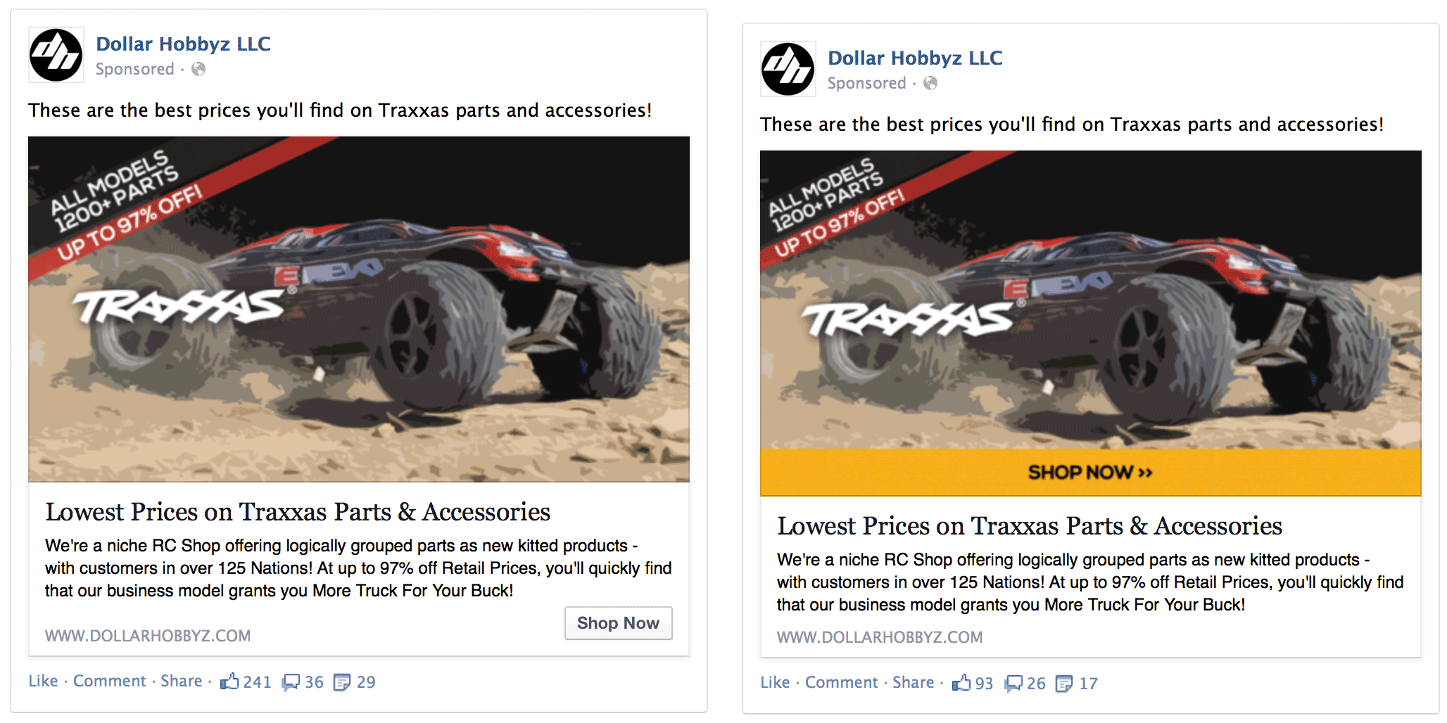 Facebook-Ads-eCommerce-CTA-AB-Test