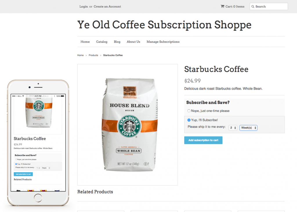 Recurring Orders & Subscriptions for Shopify