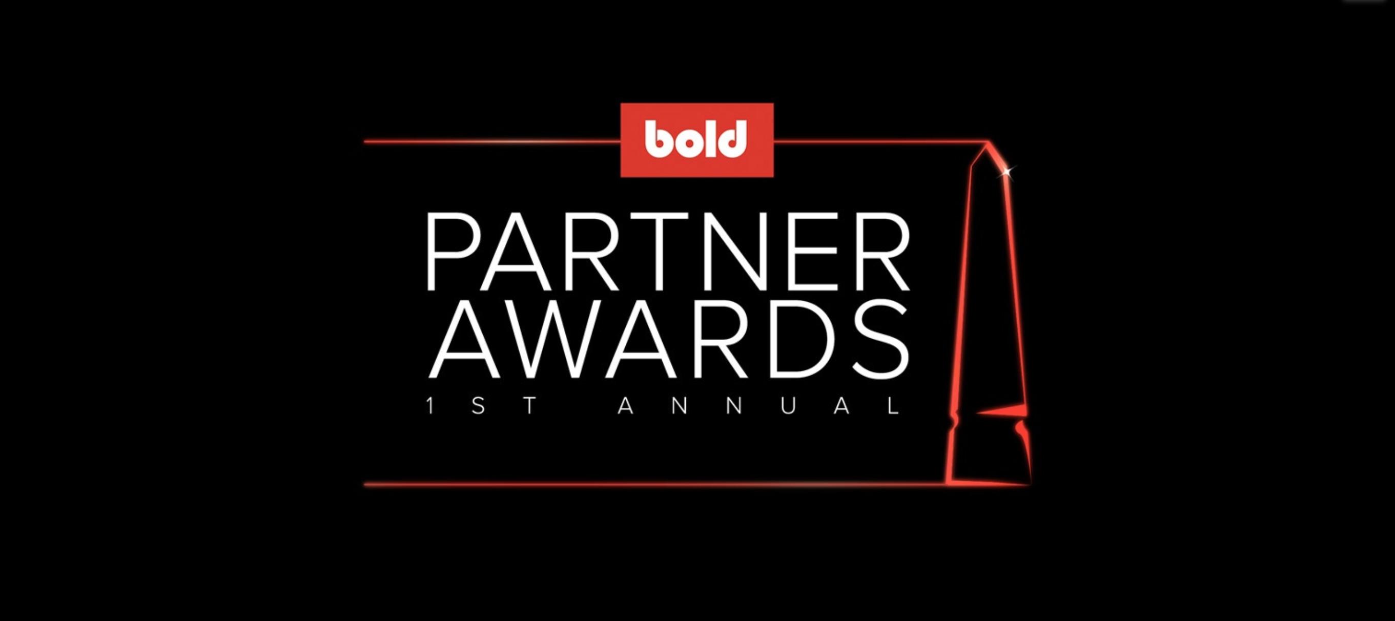 1st Annual Bold Partner Awards