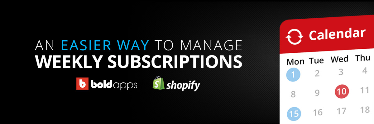 New releases for Bold's Recurring Orders app to help you manage subscriptions