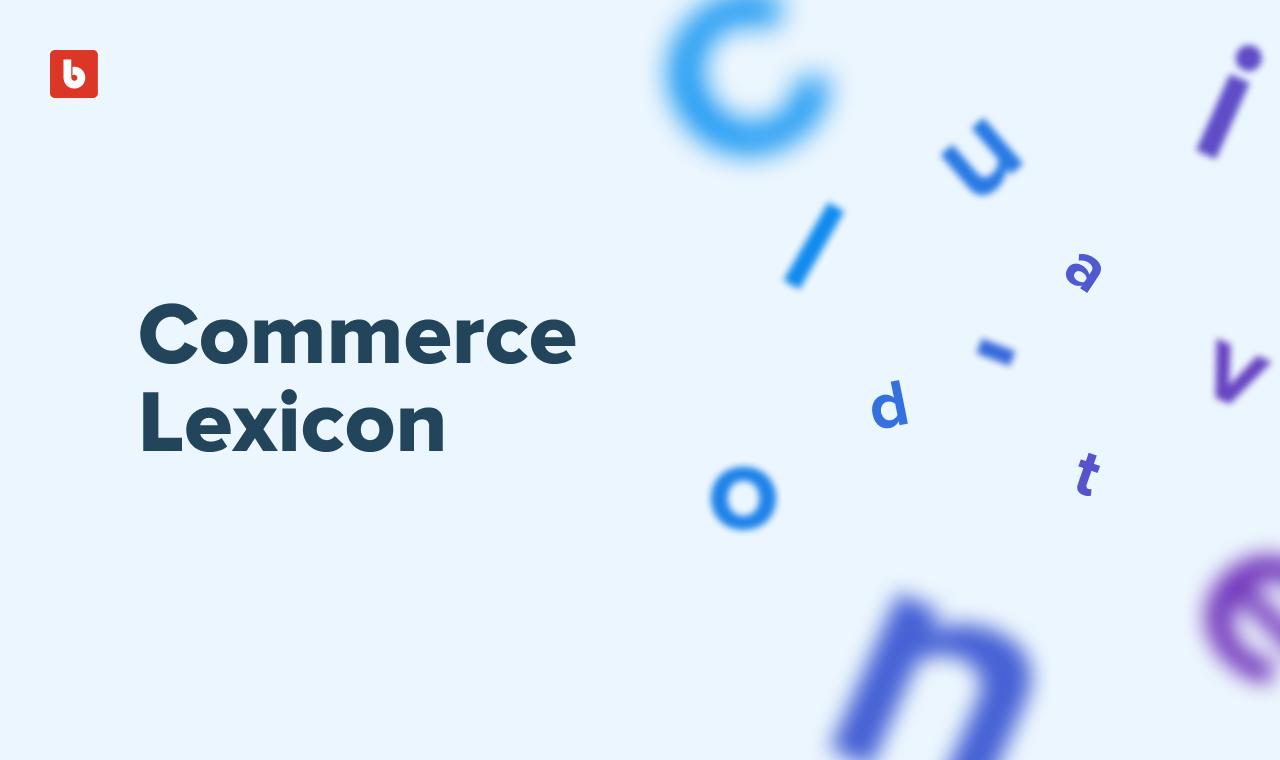 Commerce Lexicon