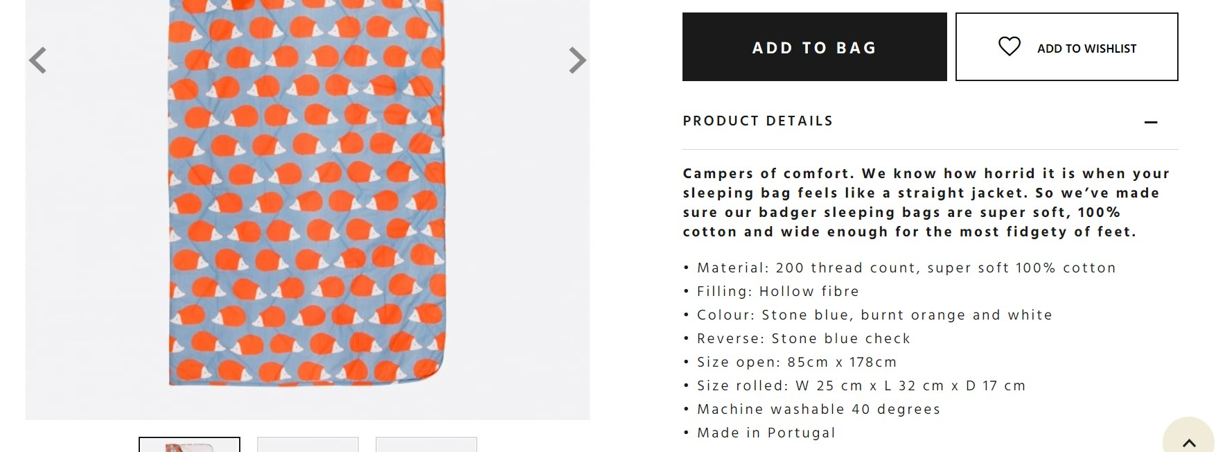 how to write product page