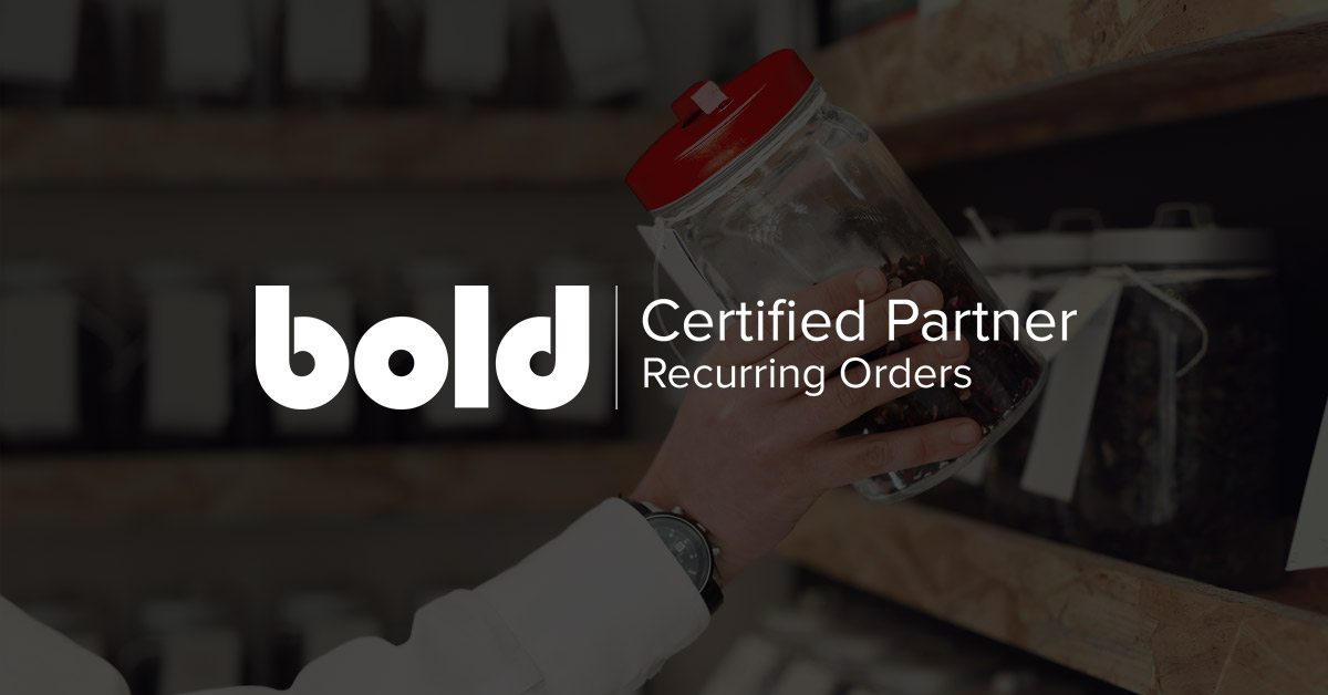 Introducing Bold Recurring Orders Certified Partners